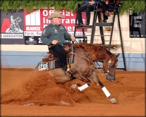 NRHA 5 Million Dollar Rider Shawn Flarida